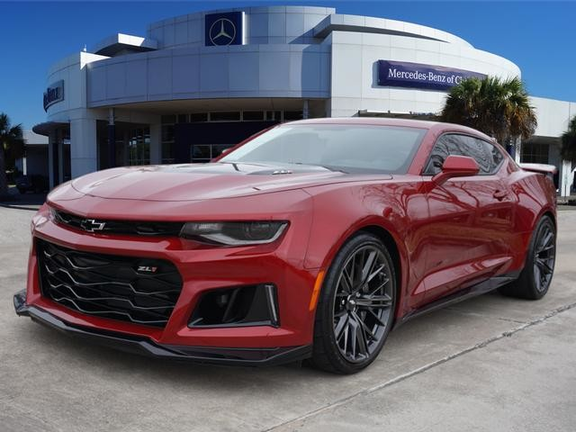 Pre Owned 2017 Chevrolet Camaro Zl1 650hp Garnet Red Loaded