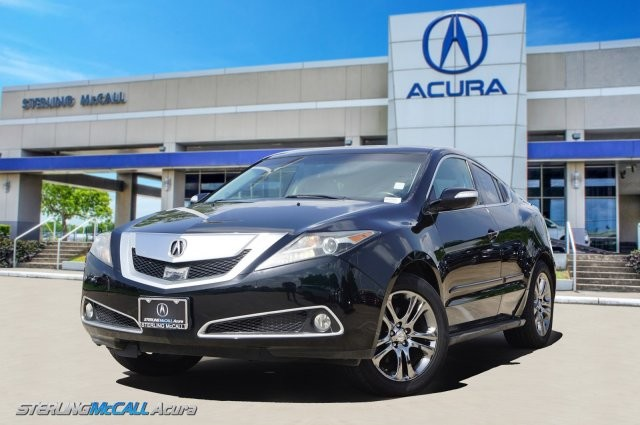 Pre-Owned 2010 Acura ZDX Advance Pkg Heat & Cooled Leather, Adaptive Cruise, NAV, & more!