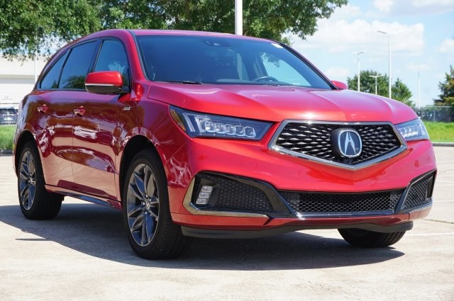 Pre-Owned 2019 Acura MDX w/Technology/A-Spec Pkg
