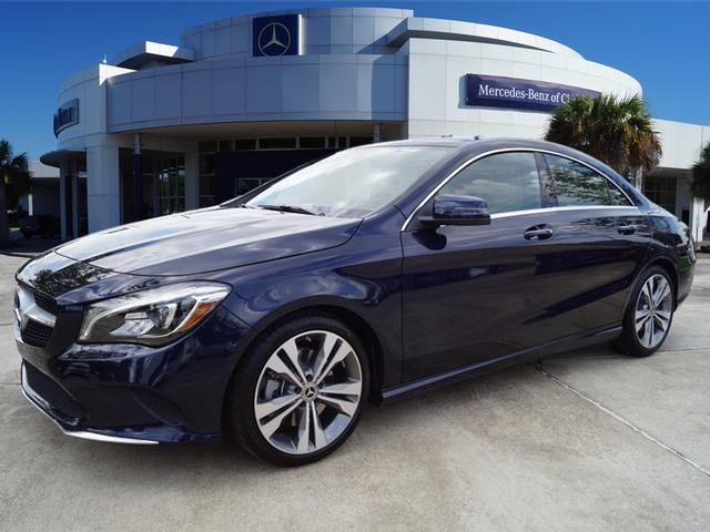 Pre owned 2018 mercedes benz cla cla 250 coupe in league for Mercedes benz league city