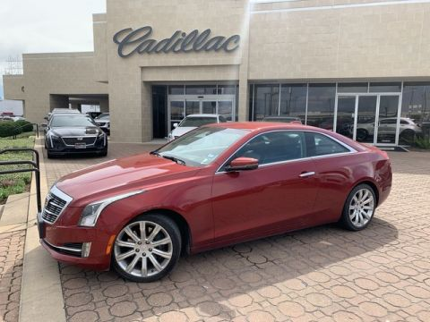 Pre-Owned 2015 Cadillac ATS Coupe Luxury RWD