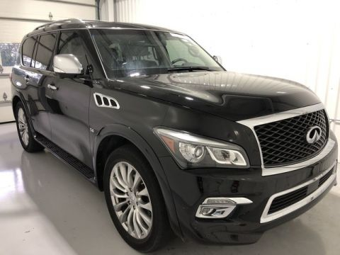 Pre-Owned 2015 INFINITI QX80 w/ Navigation & Sunroof