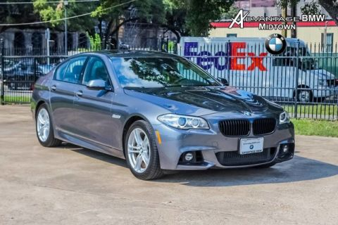 Pre-Owned 2016 BMW 5 Series 528i RWD MSPORT PREMIUM