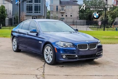 Pre-Owned 2016 BMW 5 Series 535i RWD LUXURY PREMIUM NAV DRIVING ASSIST