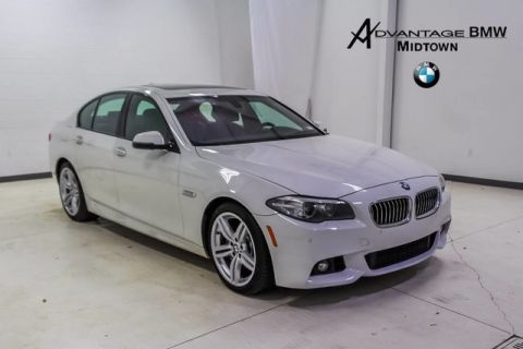 Pre-Owned 2016 BMW 5 Series 535i RWD MSPORT PREMIUM DR ASSIST LUX SEATING