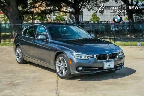 Pre-Owned 2016 BMW 3 Series 340i RWD SPORT TECH DRIVING ASSIST ROOF NAV