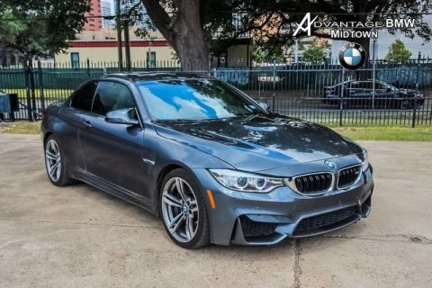 Pre-Owned 2016 BMW M4 RWD NAV HK EXEC ADAPT SUSP DBL CLUTCH
